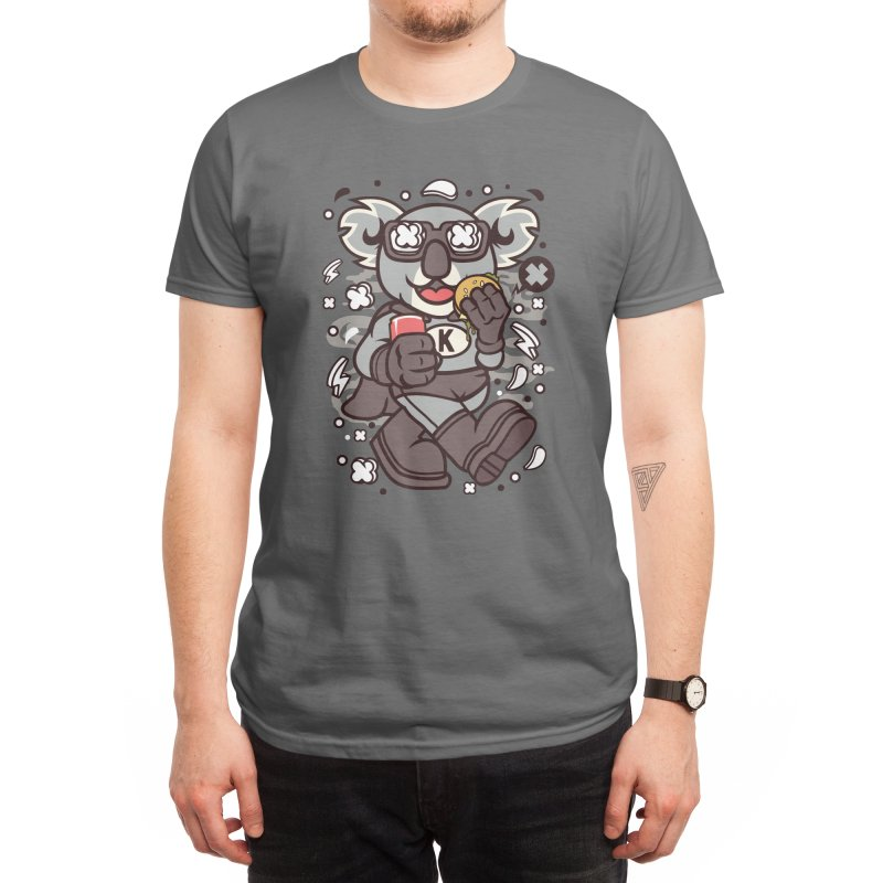 Super Koala Men's T-Shirt by The Jeff Collection