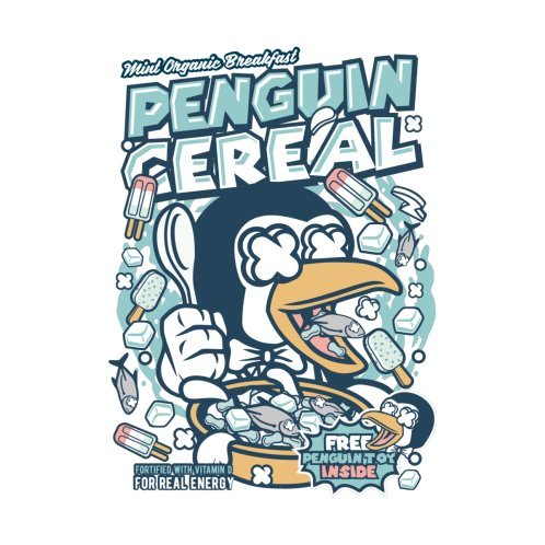 Design for Penguin Cereal