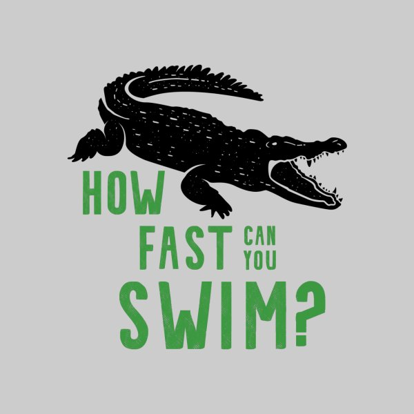image for How Fast Can You Swim