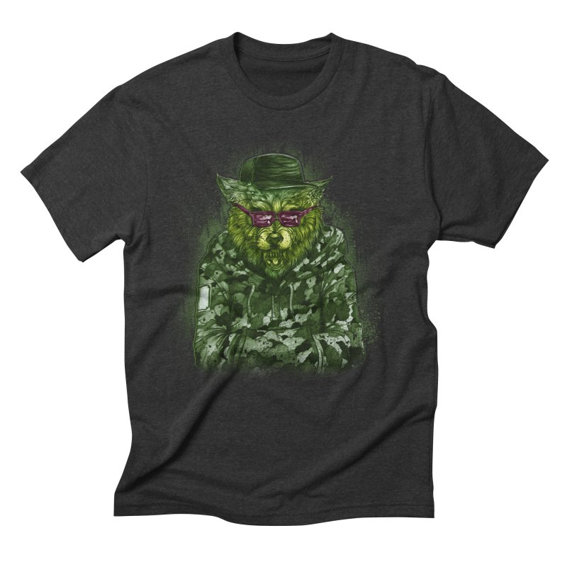 URBAm wild Men's Triblend T-Shirt by T.JEF