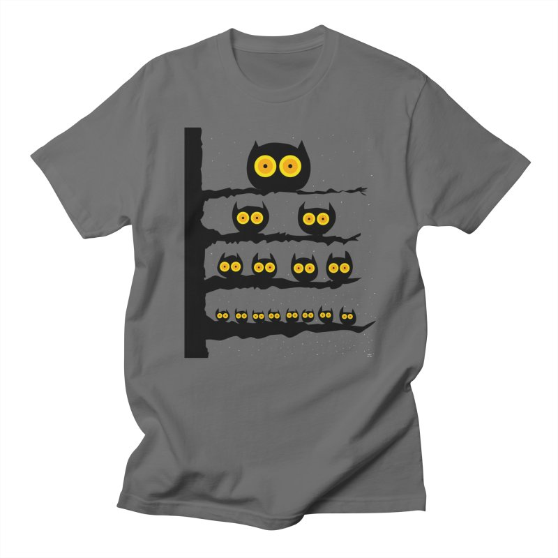 Night Owls Men's T-Shirt by jeffisawesome's Artist Shop
