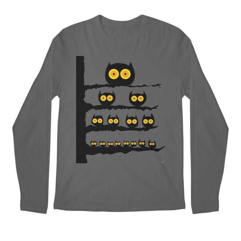 Night Owls Men's Longsleeve T-Shirt by jeffisawesome's Artist Shop