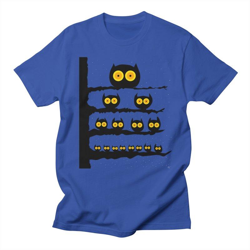 Night Owls Men's Regular T-Shirt by jeffisawesome's Artist Shop