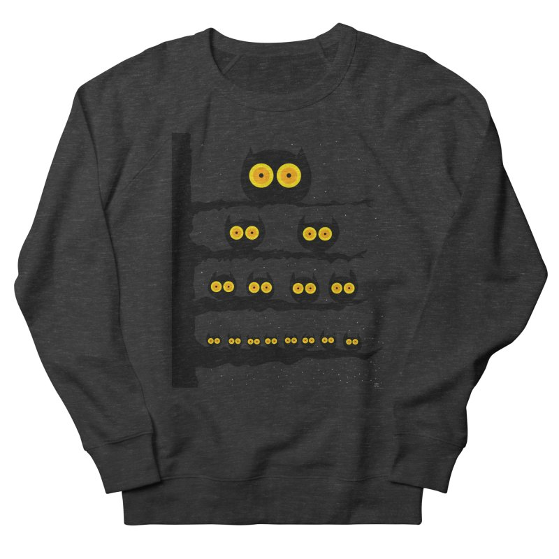 Night Owls Women's French Terry Sweatshirt by jeffisawesome's Artist Shop