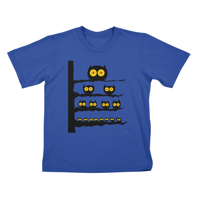 Night Owls Kids T-Shirt by jeffisawesome's Artist Shop