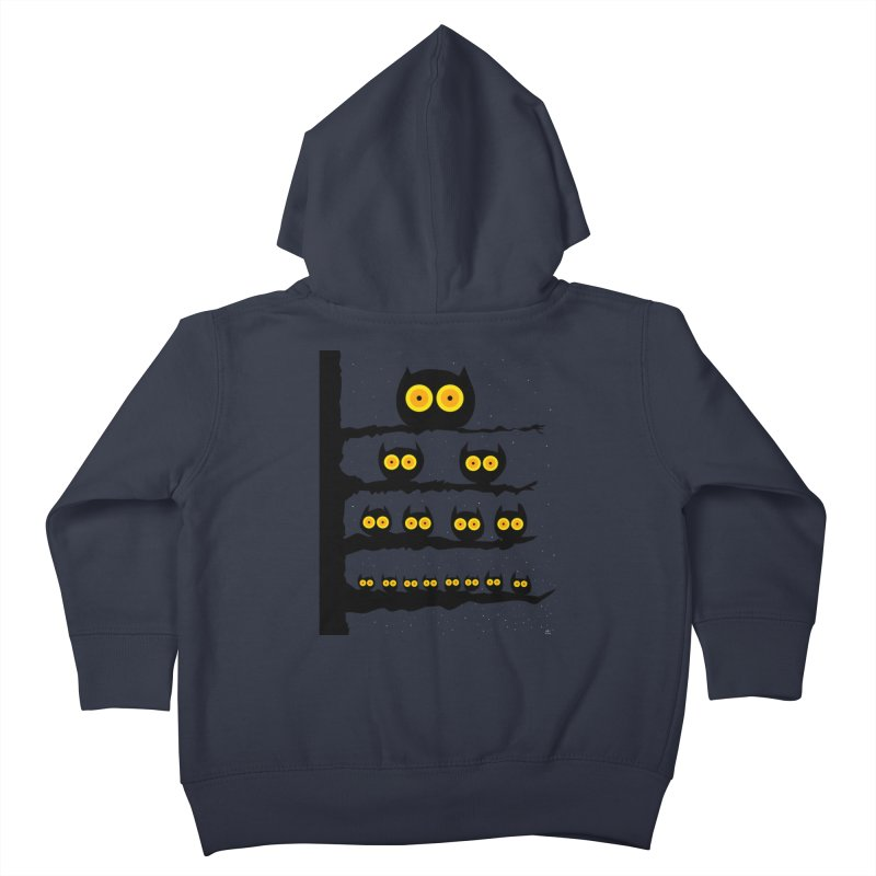 Night Owls Kids Toddler Zip-Up Hoody by jeffisawesome's Artist Shop