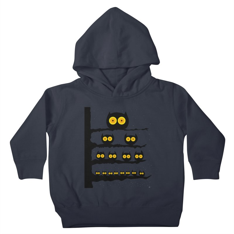 Night Owls Kids Toddler Pullover Hoody by jeffisawesome's Artist Shop