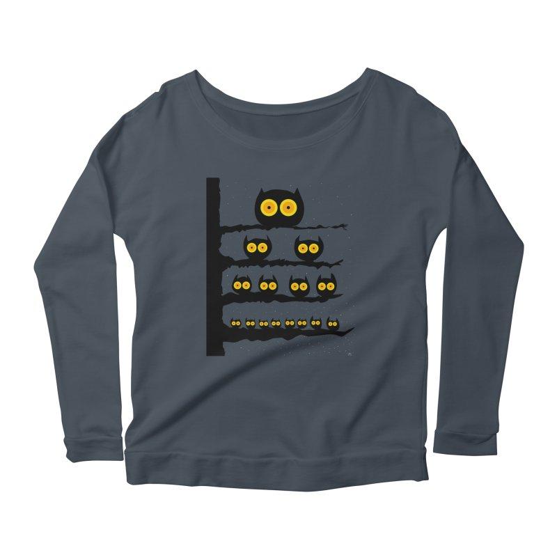 Night Owls Women's Scoop Neck Longsleeve T-Shirt by jeffisawesome's Artist Shop