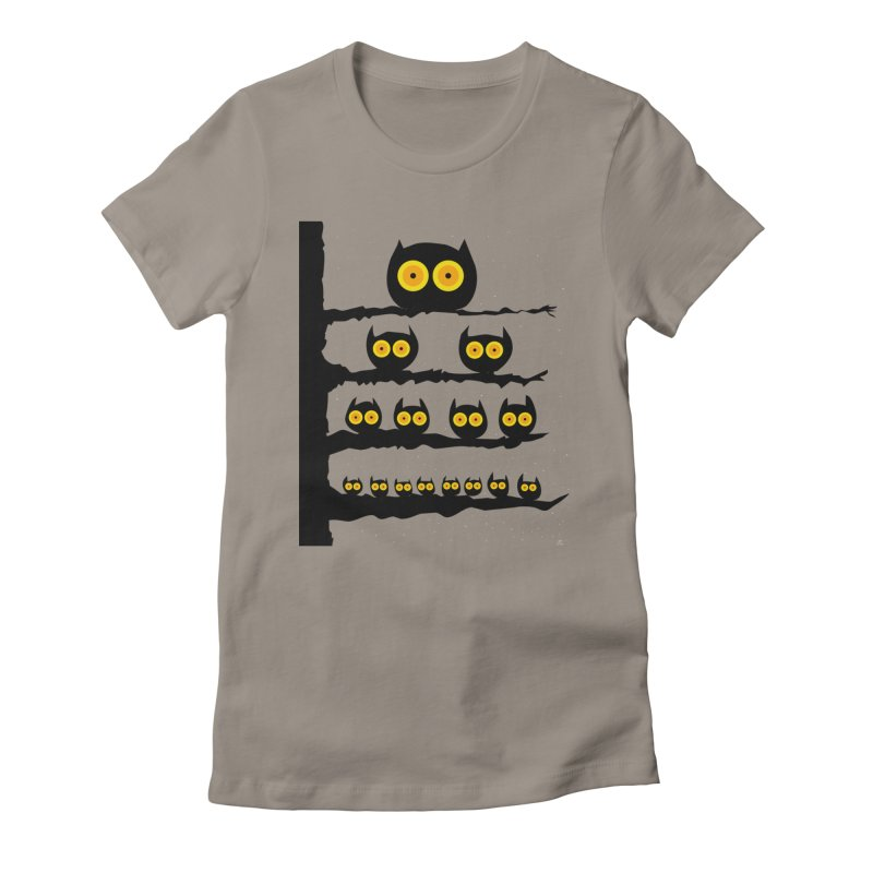 Night Owls Women's T-Shirt by jeffisawesome's Artist Shop