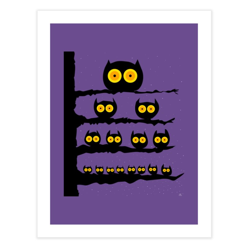Night Owls Home Fine Art Print by jeffisawesome's Artist Shop