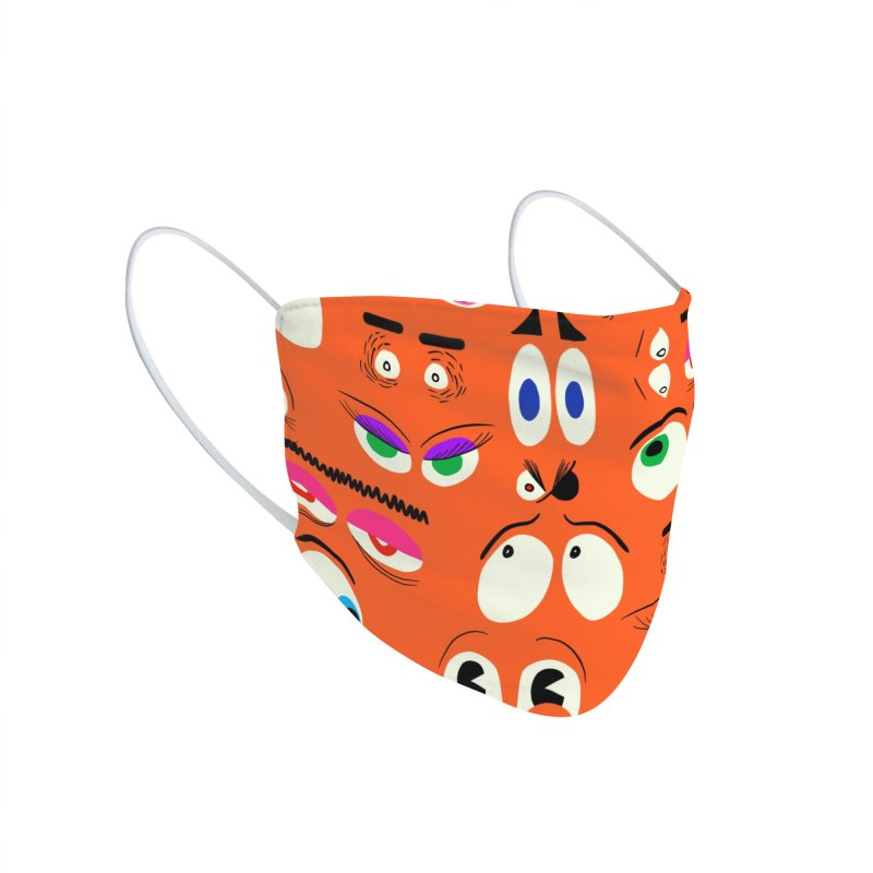 The Eyes Have It - Cartoon-Style Face Mask Accessories Face Mask by jeffisawesome's Artist Shop