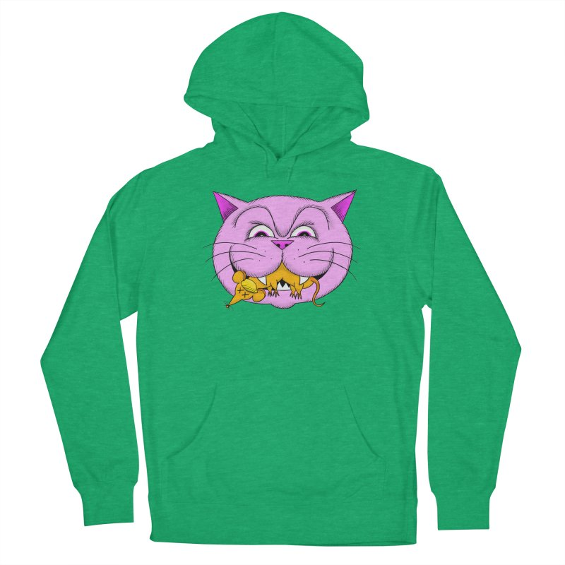 A Game of Pussy and Mouse Men's French Terry Pullover Hoody by jeffisawesome's Artist Shop