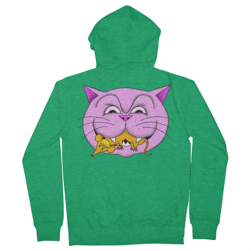 A Game of Pussy and Mouse Women's Zip-Up Hoody by jeffisawesome's Artist Shop