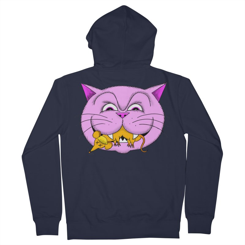 A Game of Pussy and Mouse Women's French Terry Zip-Up Hoody by jeffisawesome's Artist Shop