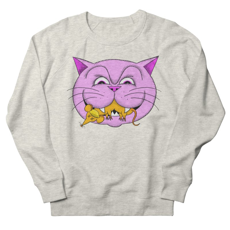 A Game of Pussy and Mouse Women's French Terry Sweatshirt by jeffisawesome's Artist Shop
