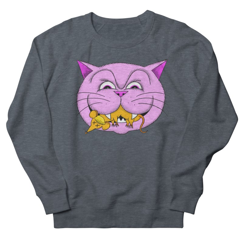 A Game of Pussy and Mouse Men's French Terry Sweatshirt by jeffisawesome's Artist Shop