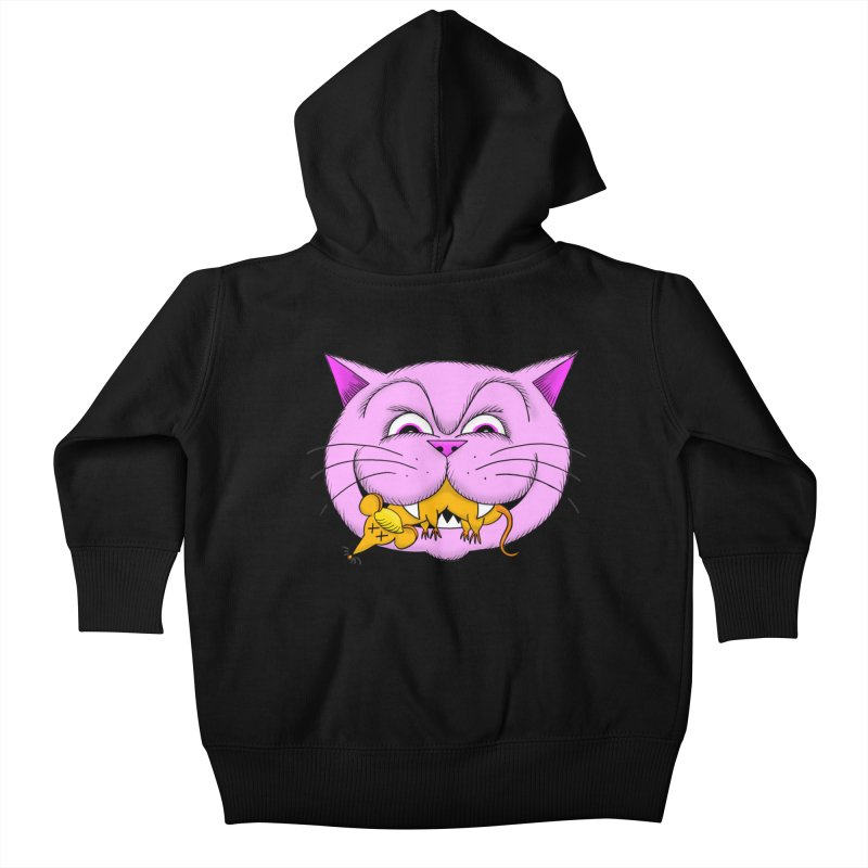 A Game of Pussy and Mouse Kids Baby Zip-Up Hoody by jeffisawesome's Artist Shop