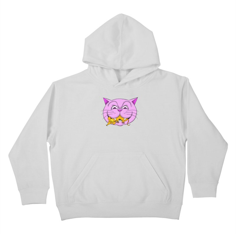 A Game of Pussy and Mouse Kids Pullover Hoody by jeffisawesome's Artist Shop