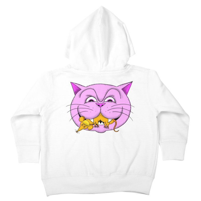 A Game of Pussy and Mouse Kids Toddler Zip-Up Hoody by jeffisawesome's Artist Shop