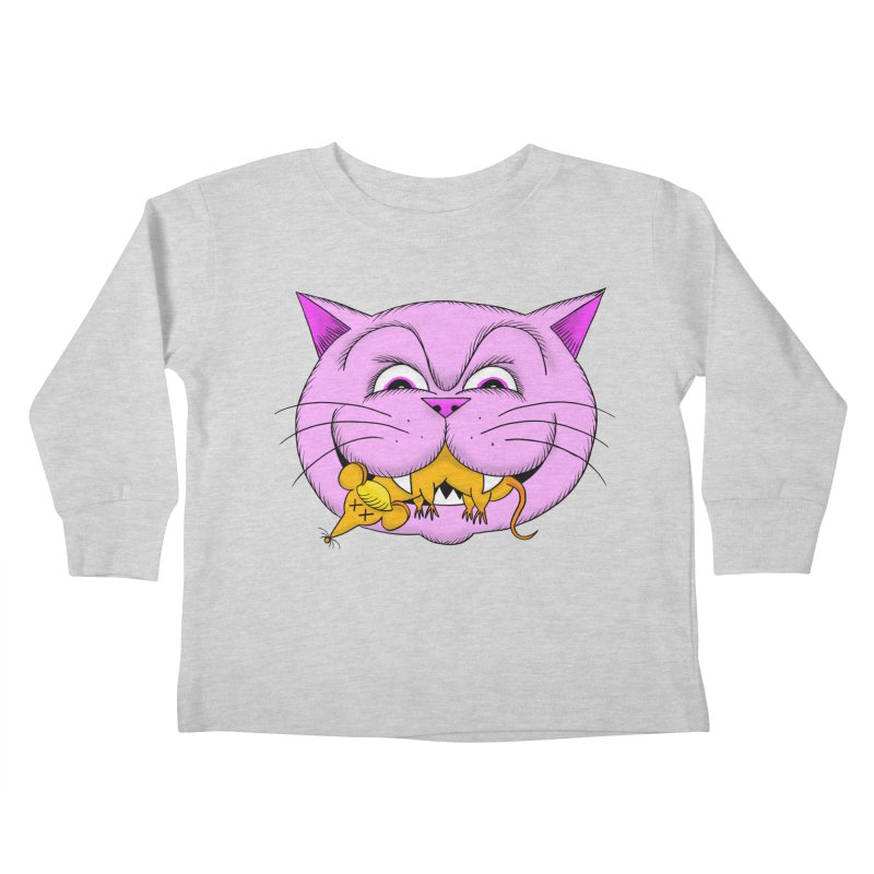 A Game of Pussy and Mouse Kids Toddler Longsleeve T-Shirt by jeffisawesome's Artist Shop