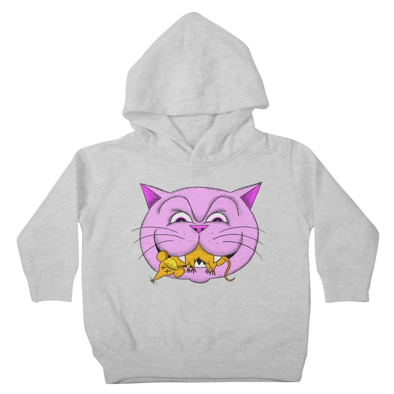 A Game of Pussy and Mouse Kids Toddler Pullover Hoody by jeffisawesome's Artist Shop