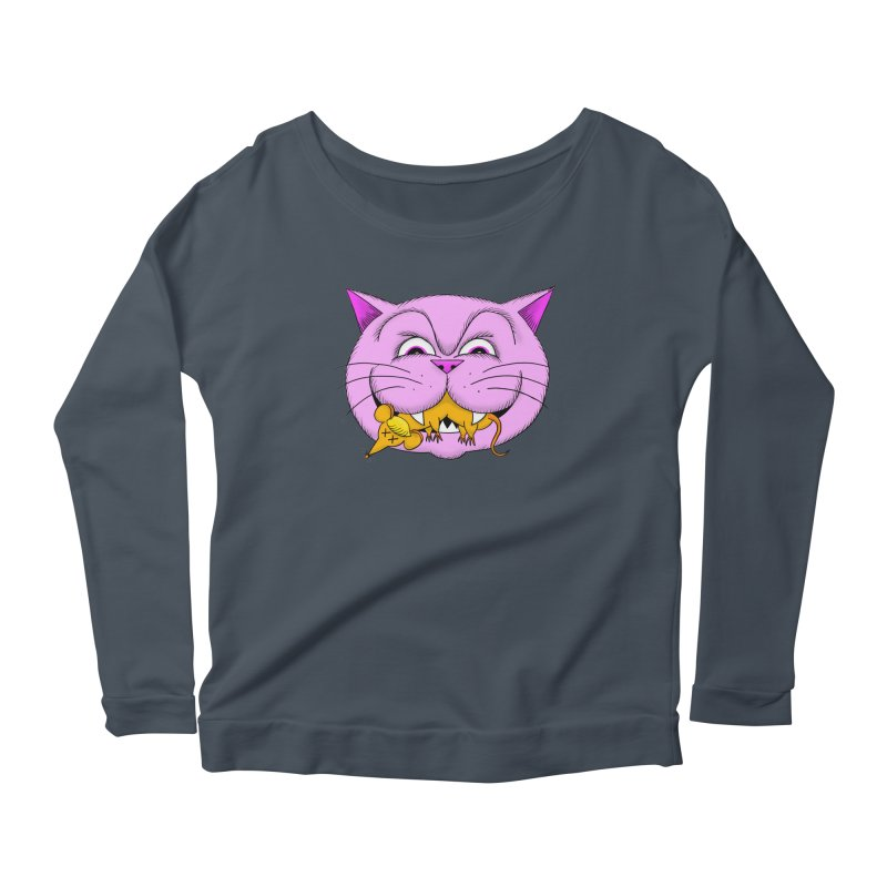A Game of Pussy and Mouse Women's Scoop Neck Longsleeve T-Shirt by jeffisawesome's Artist Shop