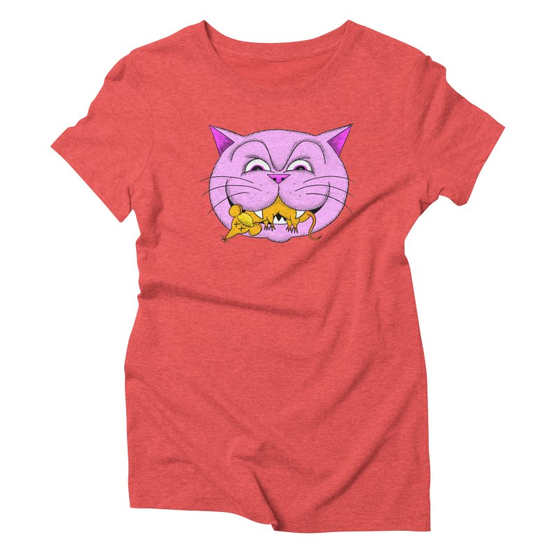 A Game of Pussy and Mouse Women's T-Shirt by jeffisawesome's Artist Shop