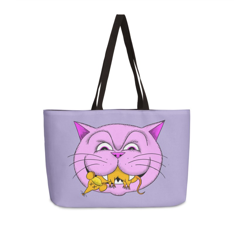 A Game of Pussy and Mouse Accessories Weekender Bag Bag by jeffisawesome's Artist Shop
