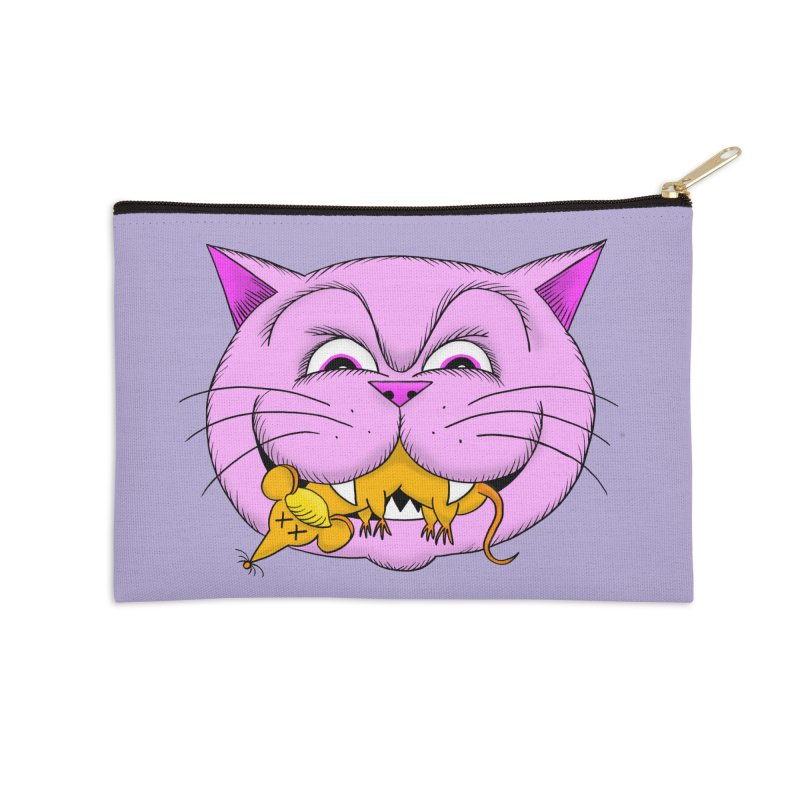 A Game of Pussy and Mouse Accessories Zip Pouch by jeffisawesome's Artist Shop