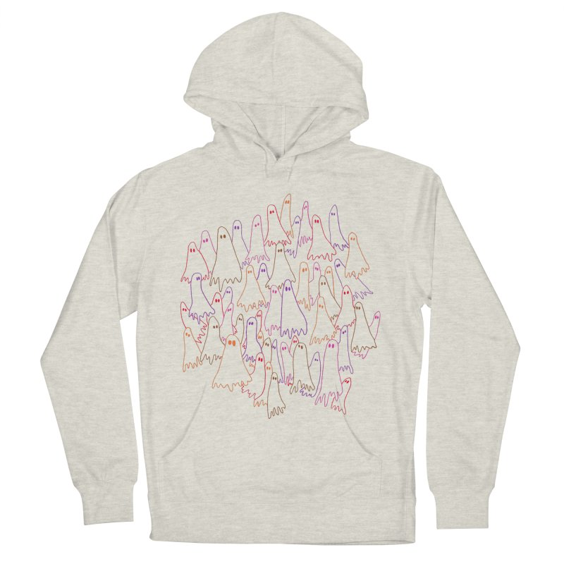 Ghost Medley - Light Men's French Terry Pullover Hoody by jeffisawesome's Artist Shop