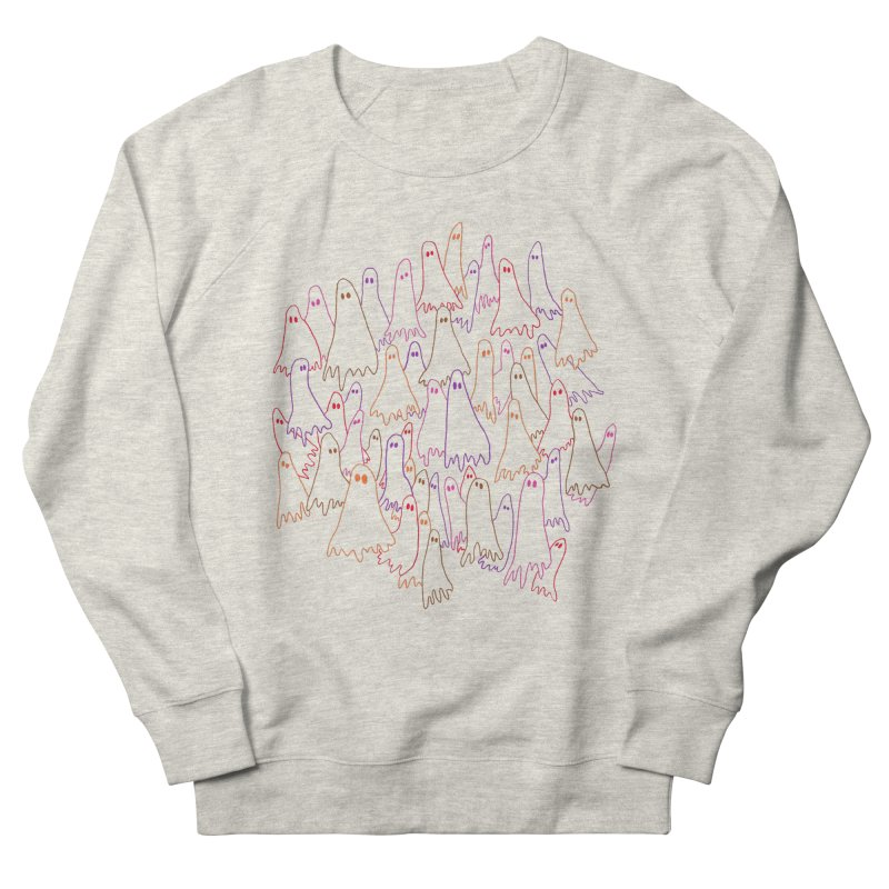 Ghost Medley - Light Women's French Terry Sweatshirt by jeffisawesome's Artist Shop