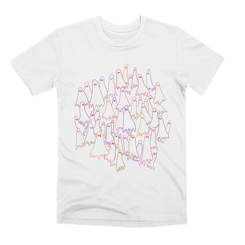 Ghost Medley - Light Men's T-Shirt by jeffisawesome's Artist Shop