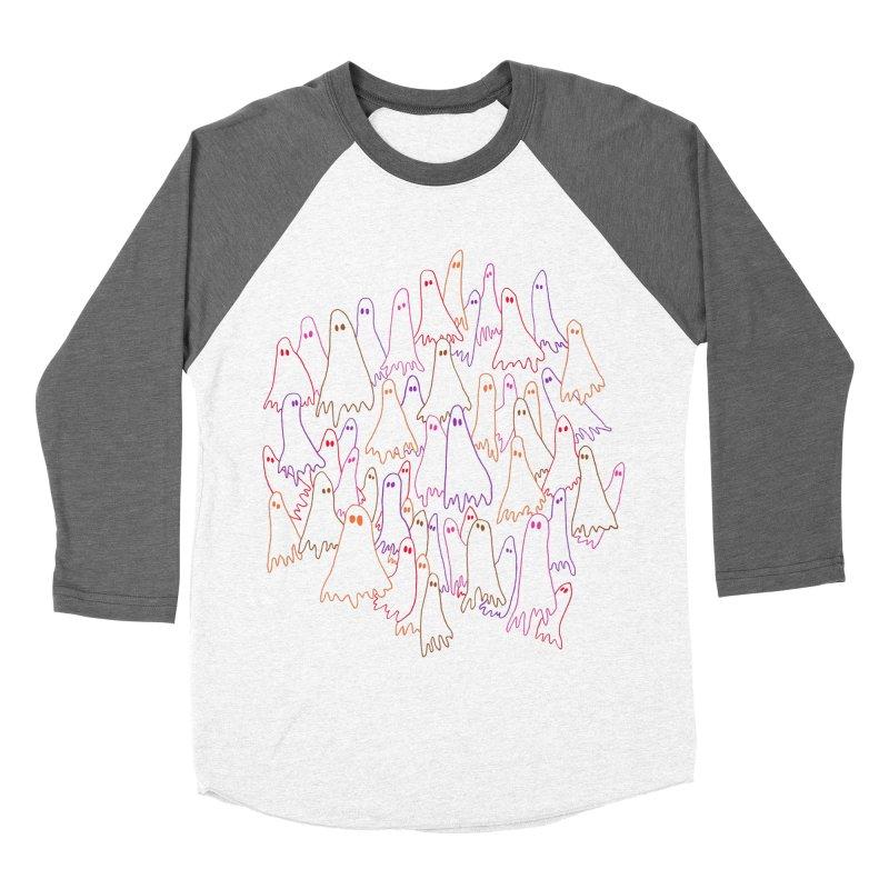 Ghost Medley - Light Women's Baseball Triblend Longsleeve T-Shirt by jeffisawesome's Artist Shop