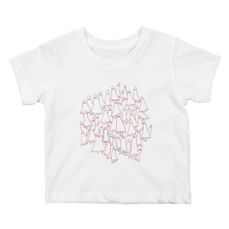 Ghost Medley - Light Kids Baby T-Shirt by jeffisawesome's Artist Shop