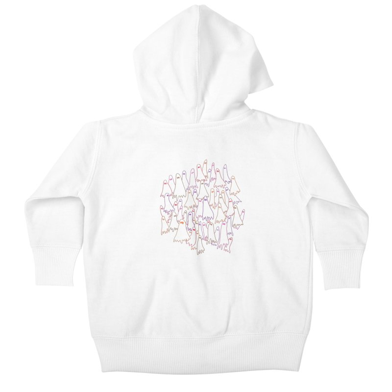 Ghost Medley - Light Kids Baby Zip-Up Hoody by jeffisawesome's Artist Shop