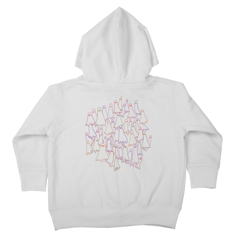 Ghost Medley - Light Kids Toddler Zip-Up Hoody by jeffisawesome's Artist Shop