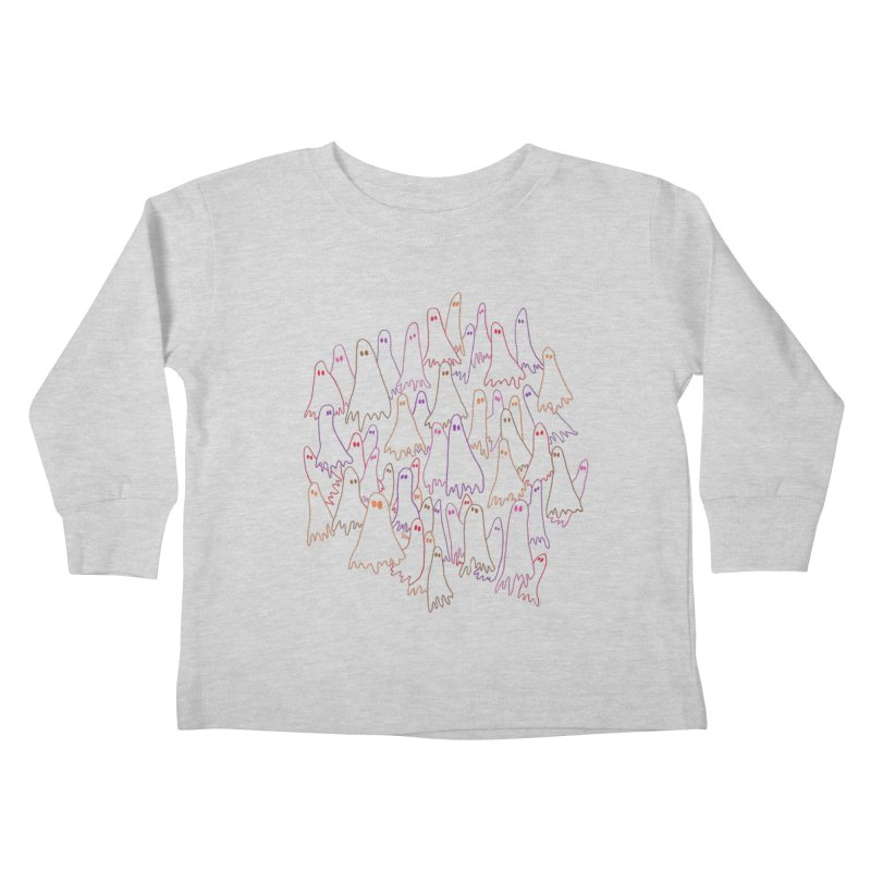 Ghost Medley - Light Kids Toddler Longsleeve T-Shirt by jeffisawesome's Artist Shop