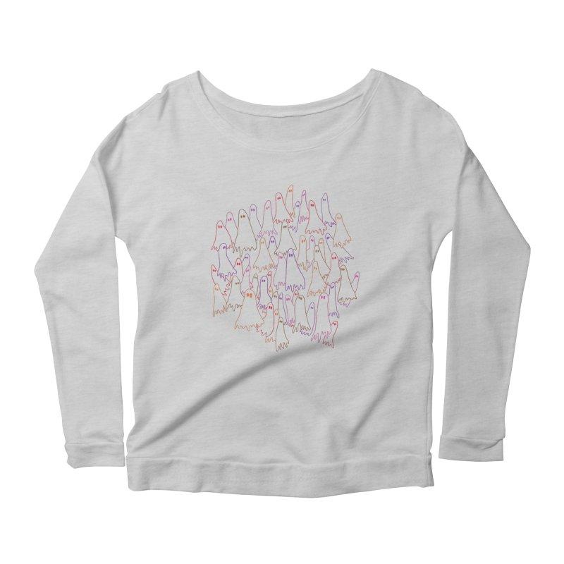 Ghost Medley - Light Women's Longsleeve T-Shirt by jeffisawesome's Artist Shop