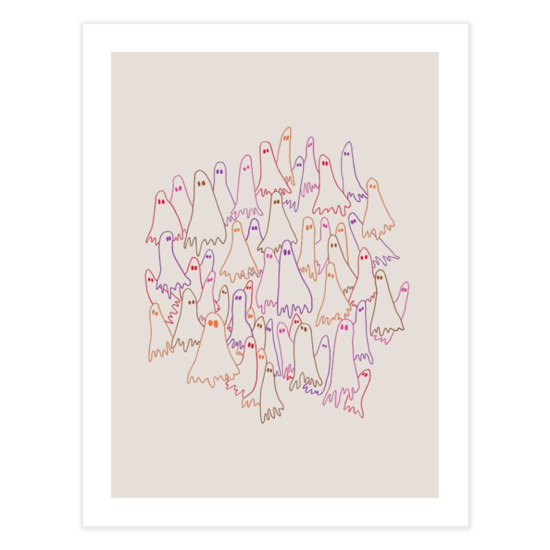 Ghost Medley - Light Home Fine Art Print by jeffisawesome's Artist Shop