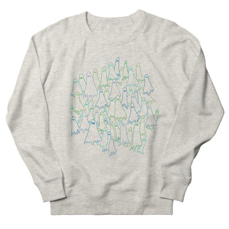 Ghost Medley - Dark Women's French Terry Sweatshirt by jeffisawesome's Artist Shop
