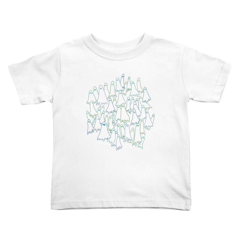 Ghost Medley - Dark Kids Toddler T-Shirt by jeffisawesome's Artist Shop