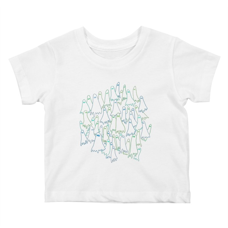 Ghost Medley - Dark Kids Baby T-Shirt by jeffisawesome's Artist Shop