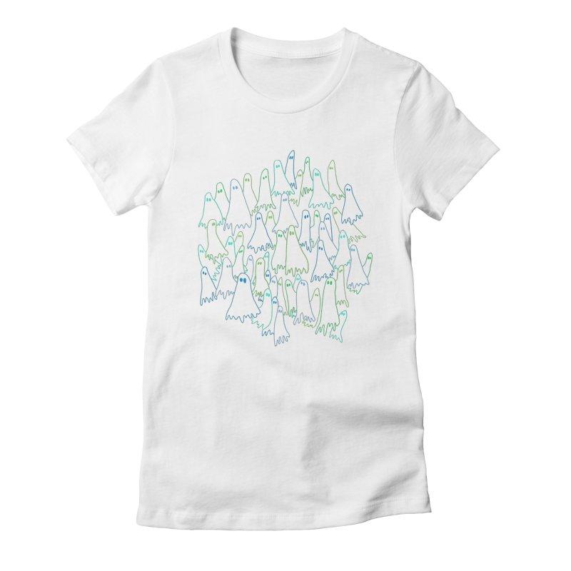 Ghost Medley - Dark Women's T-Shirt by jeffisawesome's Artist Shop