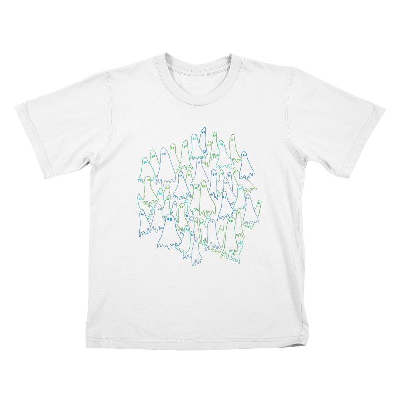 Ghost Medley - Dark Kids T-Shirt by jeffisawesome's Artist Shop