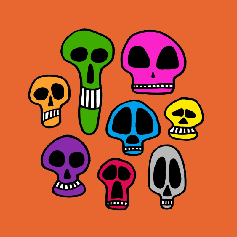 Color Skulls by jeffisawesome's Artist Shop