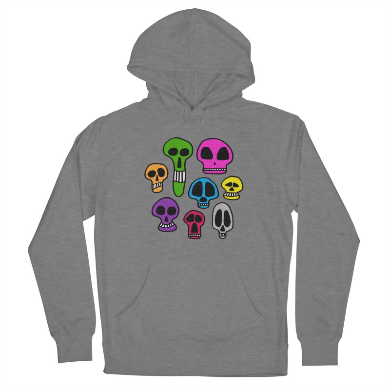 Color Skulls Women's Pullover Hoody by jeffisawesome's Artist Shop