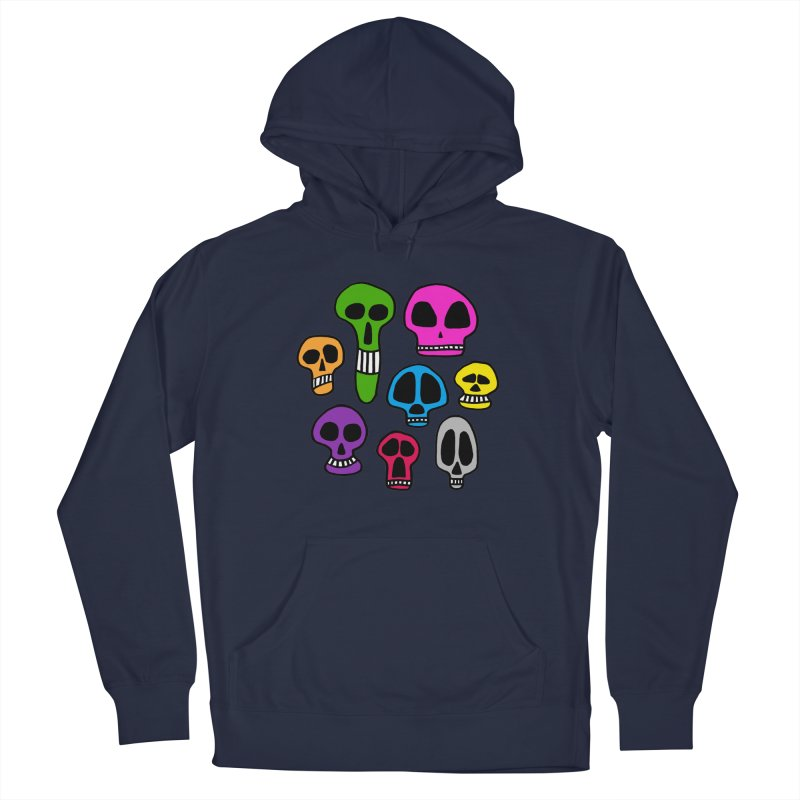 Color Skulls Men's Pullover Hoody by jeffisawesome's Artist Shop
