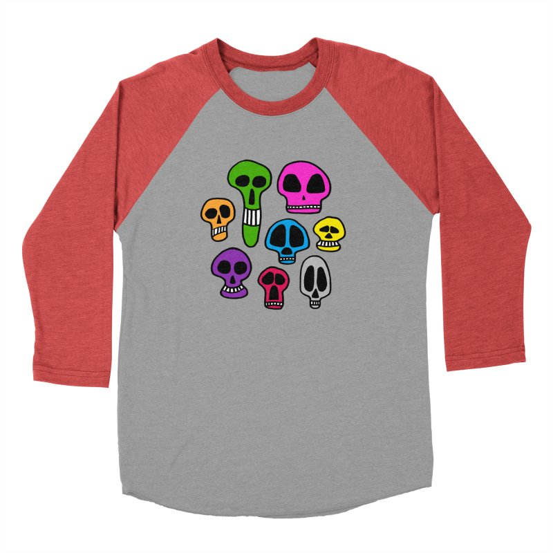 Color Skulls Men's Longsleeve T-Shirt by jeffisawesome's Artist Shop