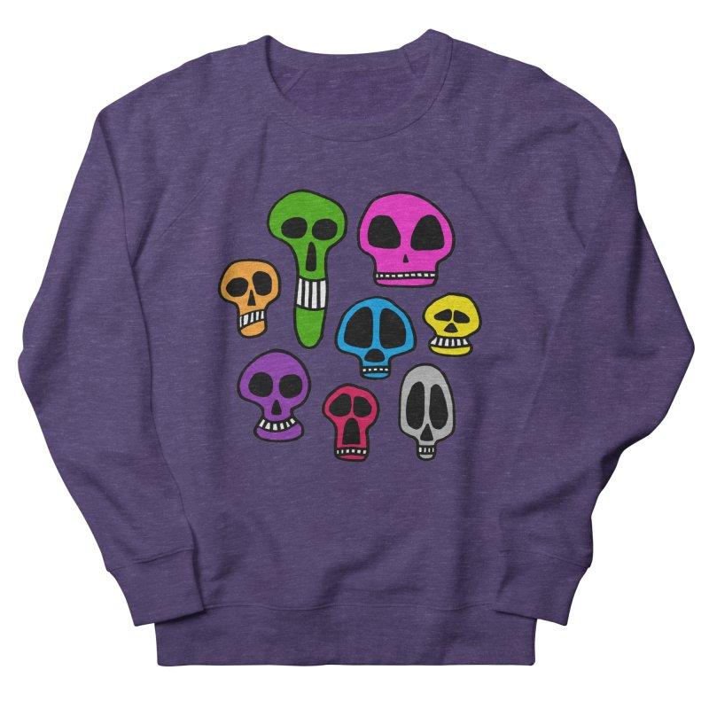 Color Skulls Women's Sweatshirt by jeffisawesome's Artist Shop