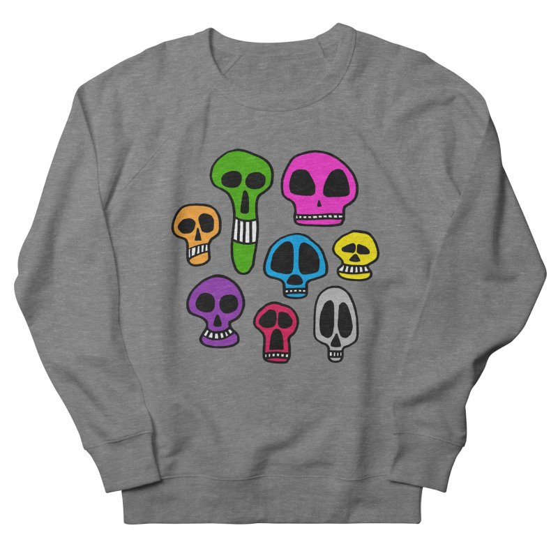Color Skulls Women's Sweatshirt by jeffisawesome's Artist Shop